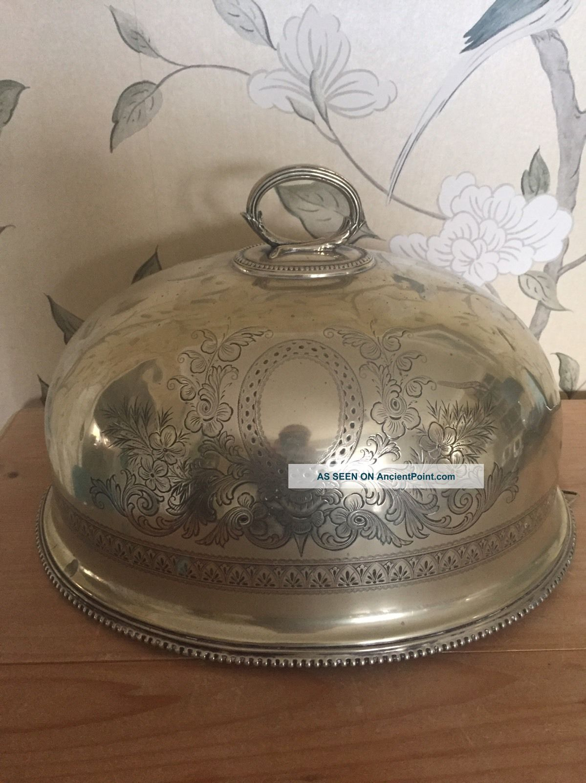 Vintage Mappin & Webb Princes Silver Plate Decorative Meat Cloche Other Antique Silverplate photo