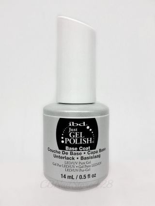 Ibd Just Gel Polish Soak Off 3pc Kit - Base,  Top,  Power Bond.  5oz photo