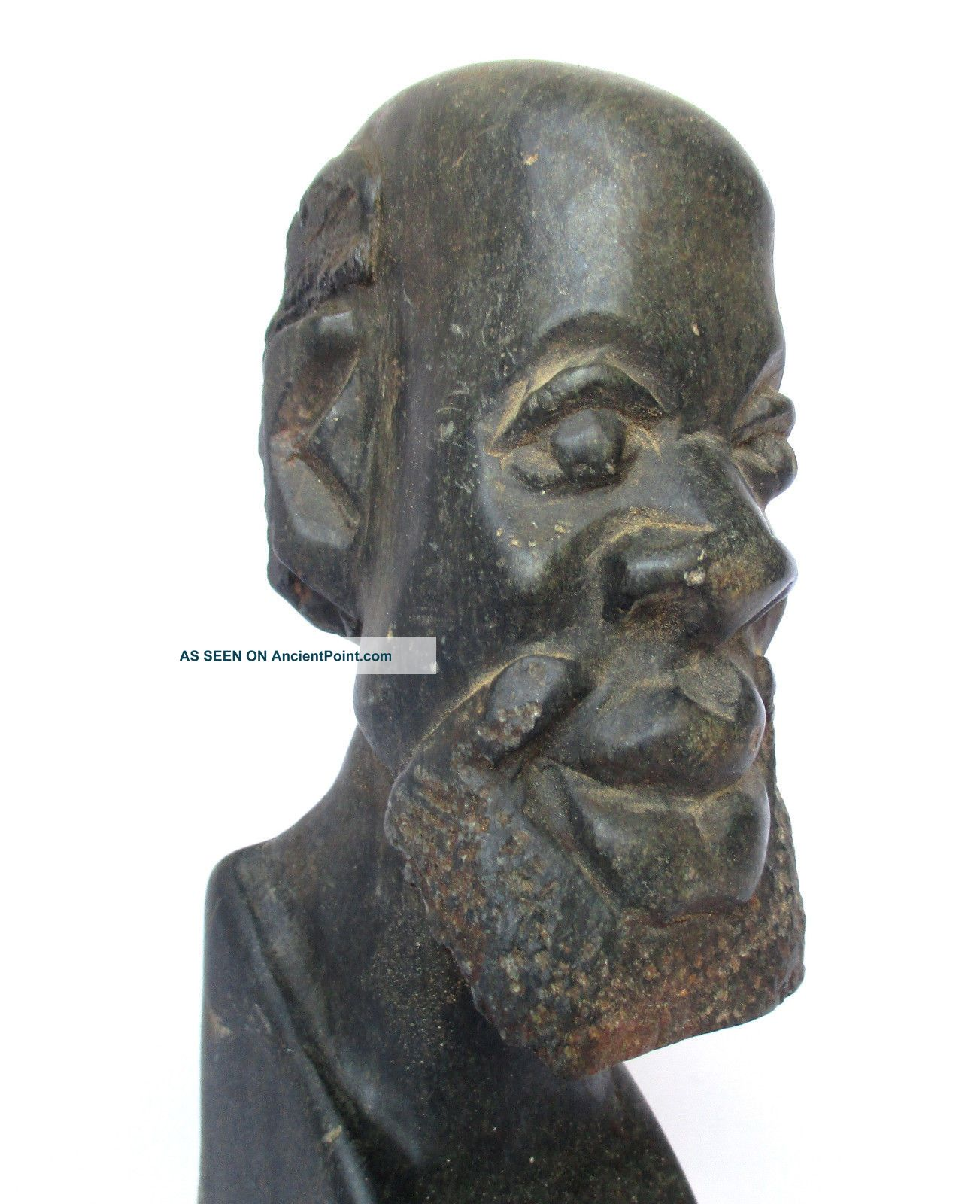 African Zimbabwe Vintage - Art,  Carved Shona Sculpture,  Stone Statue Sculptures & Statues photo