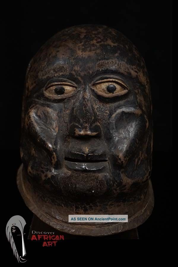 Discover African Art Makonde Helmet Mask - - Tanzania Masks photo