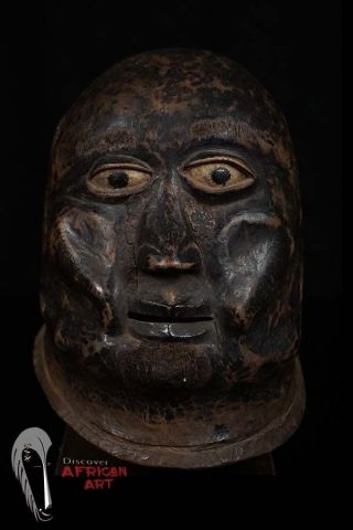 Discover African Art Makonde Helmet Mask - - Tanzania photo