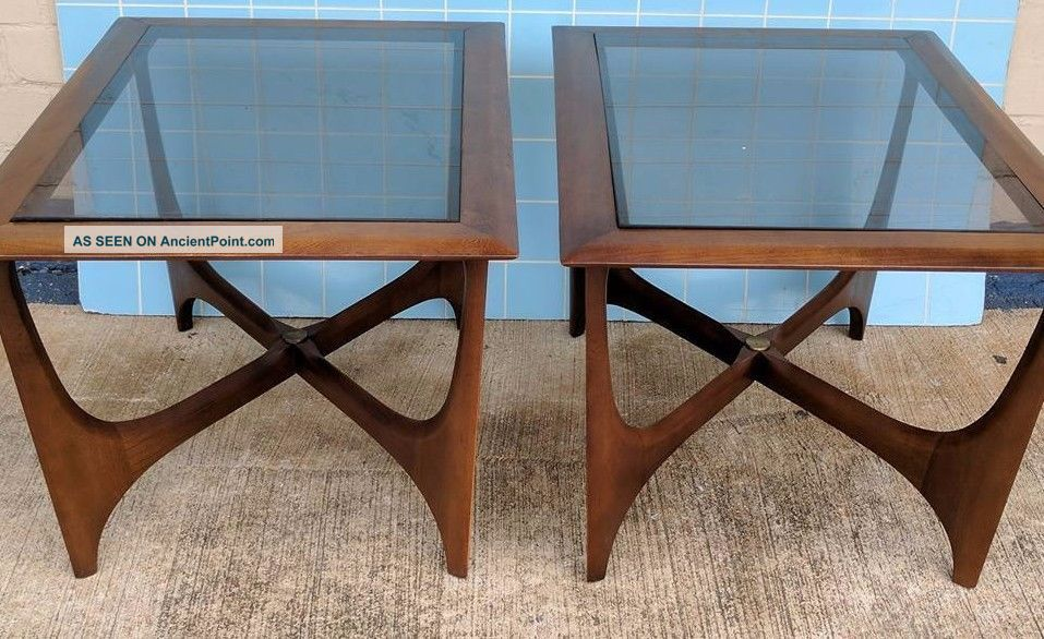 Lane / Pearsall Side Tables - 2 Available - Separately Post-1950 photo