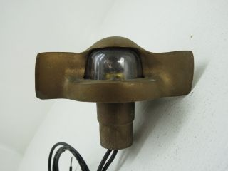 Bronze 135 Degree Mast Stern Bow Light Boat Ship Brass (2137) photo