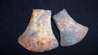 [2] Laos Stunning Ex Large Bronze Ax Adze Late Iron Age Colorful Item photo