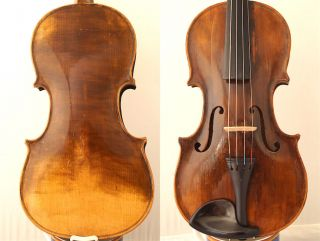 Fine 4/4 Old Master Label: S.  Seraphin Italian Violin Old Wood 小提琴 СКРИПКА Geige photo