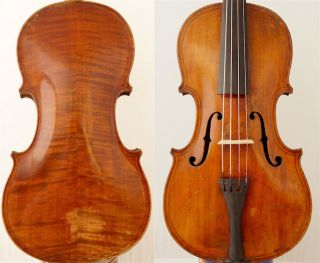 Fine 4/4 Old Master Label: Maggini Violin Old Tiger Wood 小提琴 СКРИПКА Geige photo