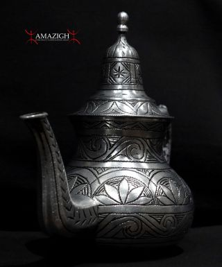 Old Fine Berber Teapot - South Morocco photo