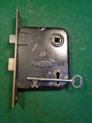 Vintage Branford Mortise Lock With Key - Completely Reconditioned (2831) photo