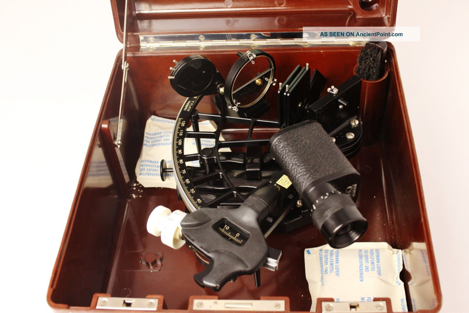 C.  Plath Marine Sextant Sextants photo