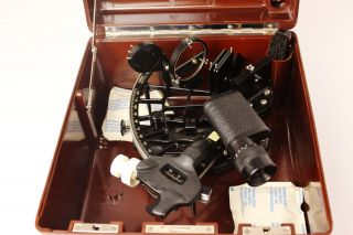 C.  Plath Marine Sextant photo