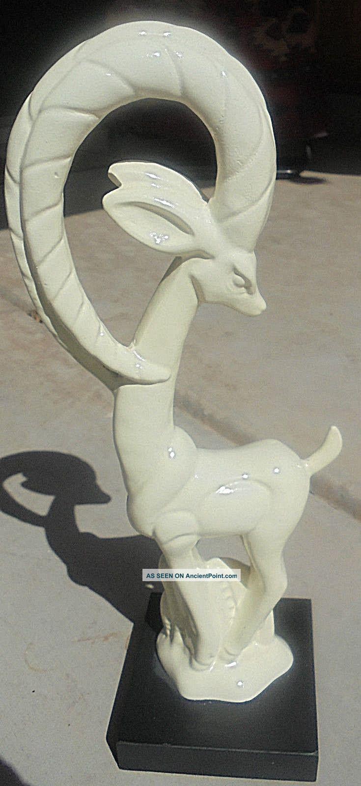 Art Deco Gazelle 1930s 18