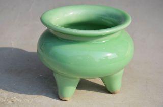 Delicate Chinese Porcelain Handmade Incense Burner photo