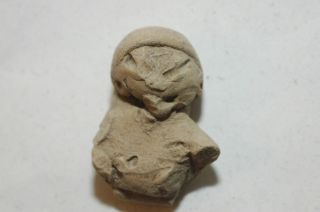 Pre - Columbian Mayan Chupicuaroterracotta Figure 1000 - 300 B.  C.  Caa - 155 photo