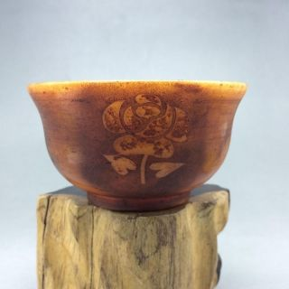 Xiuyan Jade Hand - Carved Flower Bowl In China 4。6w16 photo