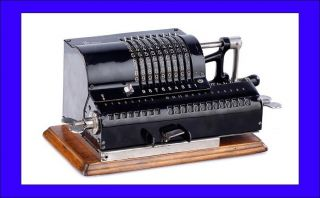 Antique Odhner A Calculator In.  Russia,  1907 - 1917 photo