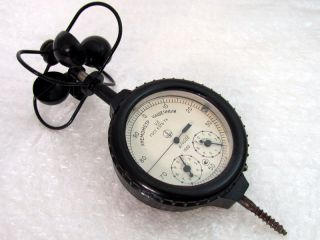Vintage 1982 Ussr Russian Anemometer Hand Bowl - Shaped Mc - 13 photo