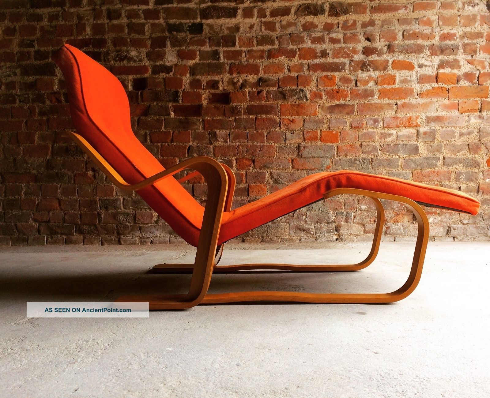 Stunning Marcel Breuer Long Chair Chaise Longue Mid Century 1970 ' S Bauhaus 1900-1950 photo