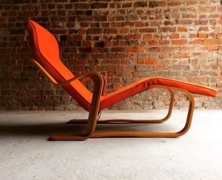 Stunning Marcel Breuer Long Chair Chaise Longue Mid Century 1970 ' S Bauhaus photo