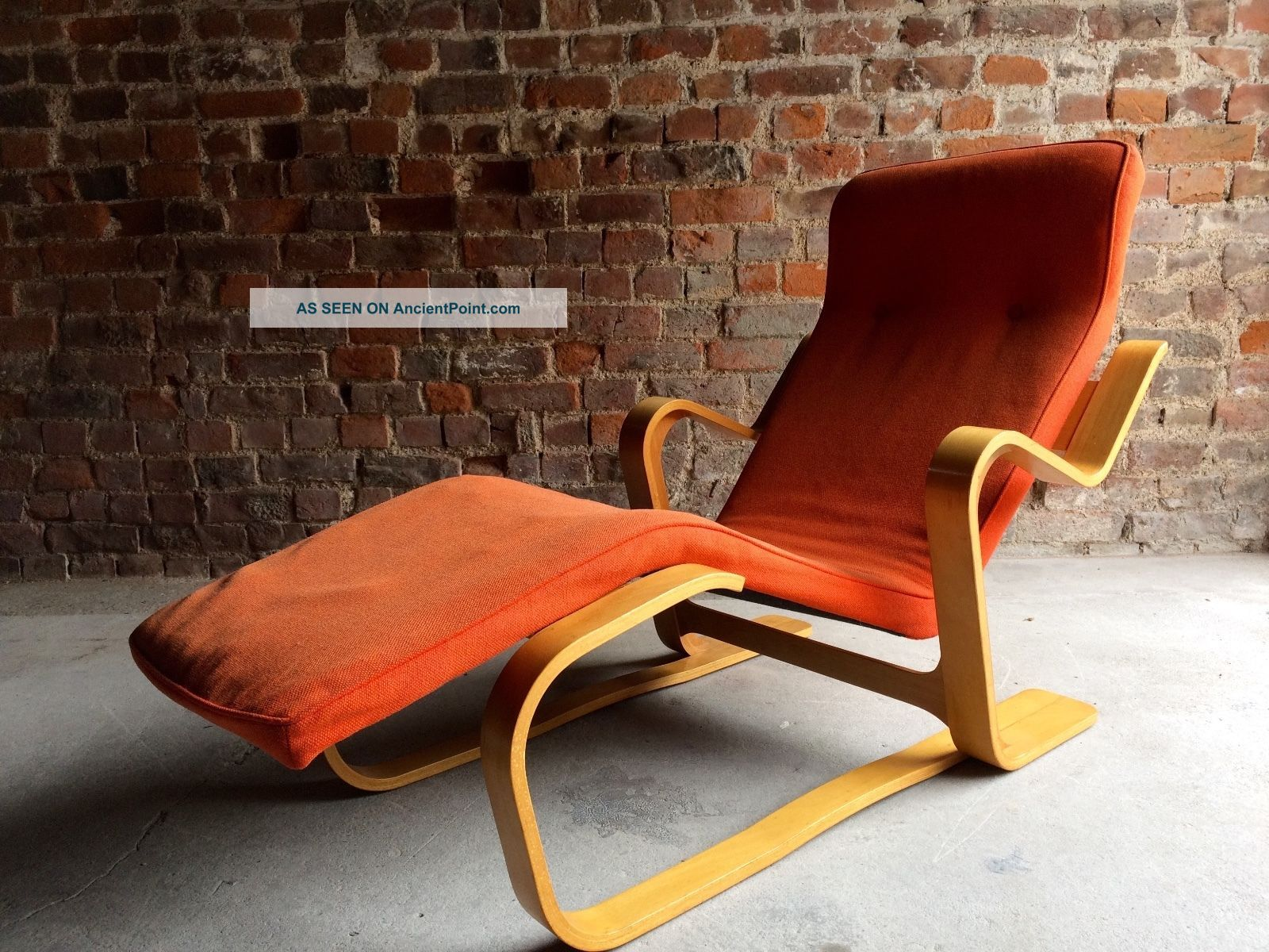 Stunning Marcel Breuer Long Chair Chaise Longue Mid