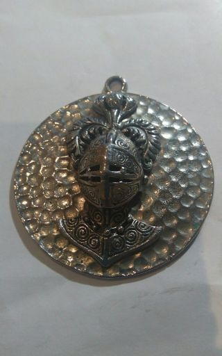 Unusual Medieval Style Pendant Metal Detecting Find - Silver?? From 99p Md04 photo