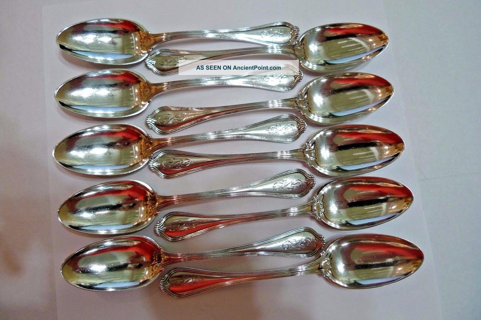 Vintage Sterling Silver Tea Spoons