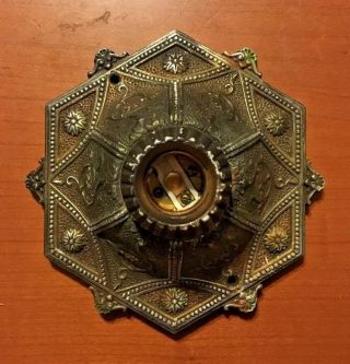 Rare 1920s Vintage Ornate Isco Art Deco Electric Ceiling Or Wall Fixture Lamp photo