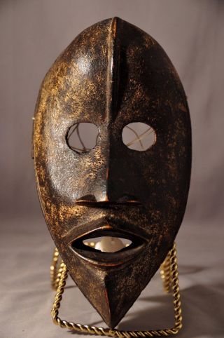Fine Antique African Tribal Dan Passport Mask,  Cote D ' Ivoire photo