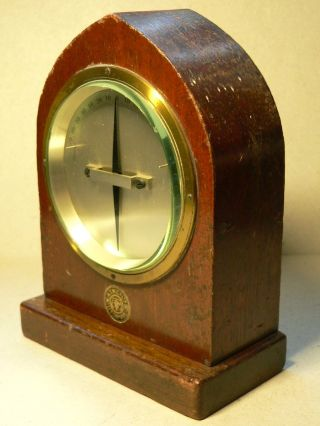 A Brass Bound,  Telegraph Galvanometer By The A.  T.  M.  Co.  Ltd.  Liverpool photo
