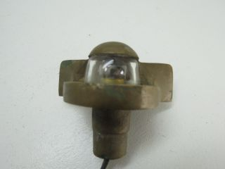 Bronze 135 Degree Mast Stern Bow Light Boat Ship Brass (2138) photo