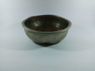 Bath Bowl Vessel,  Copper Plated With Silver From Turkey photo