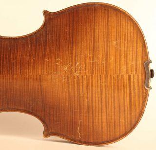 Old French Violin J.  Boquay 1714 Geige Violon Violino Violine Viola ヴァイオリン 小提琴 photo