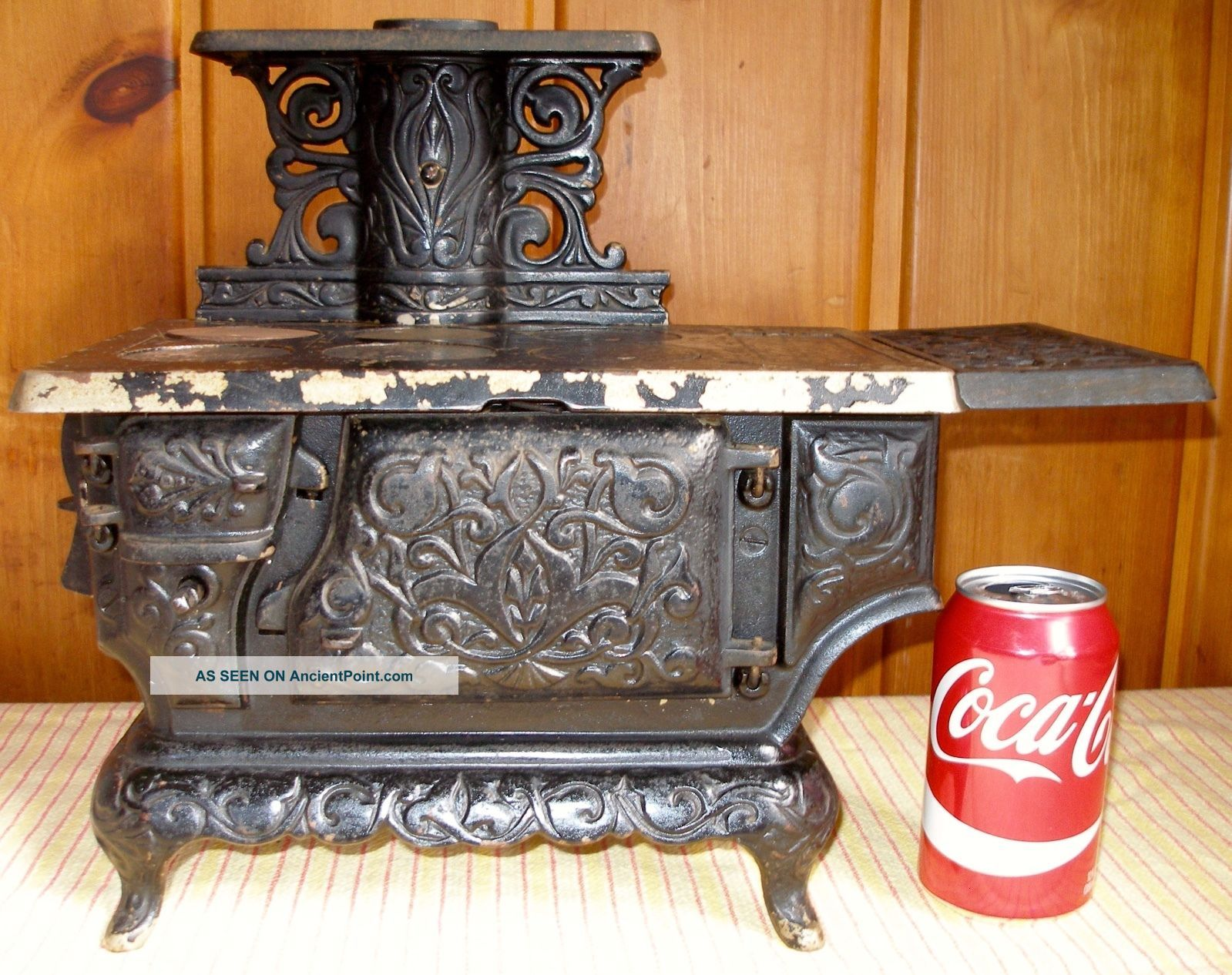 C.  1895 Ideal No.  3 Cast Iron Toy Stove,  Restoration Or Parts,  Antique Stoves photo