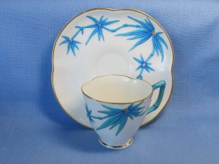 Antique Worcester Cup And Saucer 19th Century photo