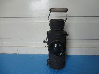 Rare Antique Signalling Railway Lamp/lantern (our Code 003) photo