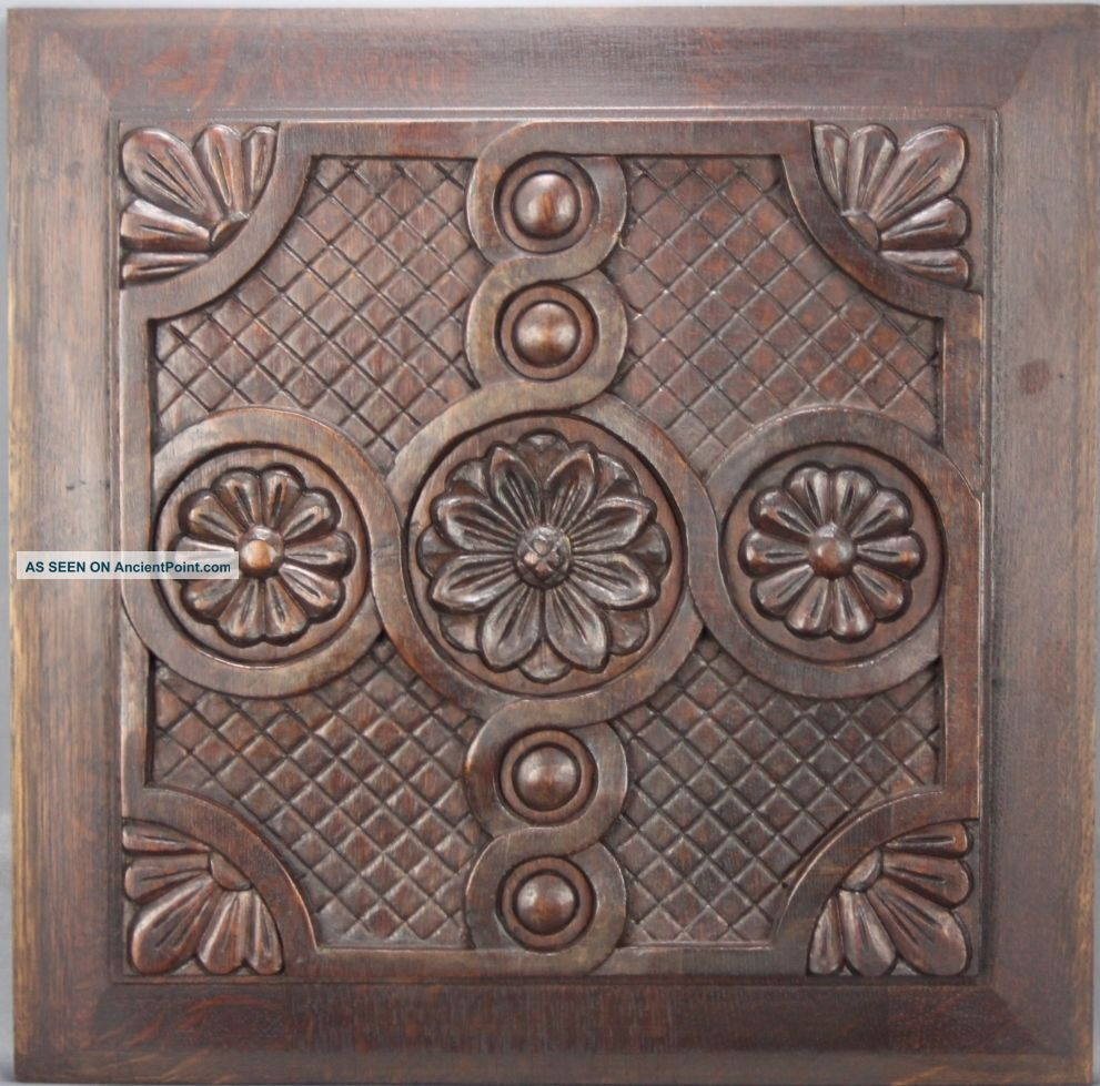 Antique Architectural Wood Panel French Country Other Antique Woodenware photo