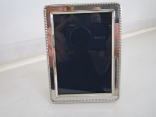 Solid Silver Photo Frame photo