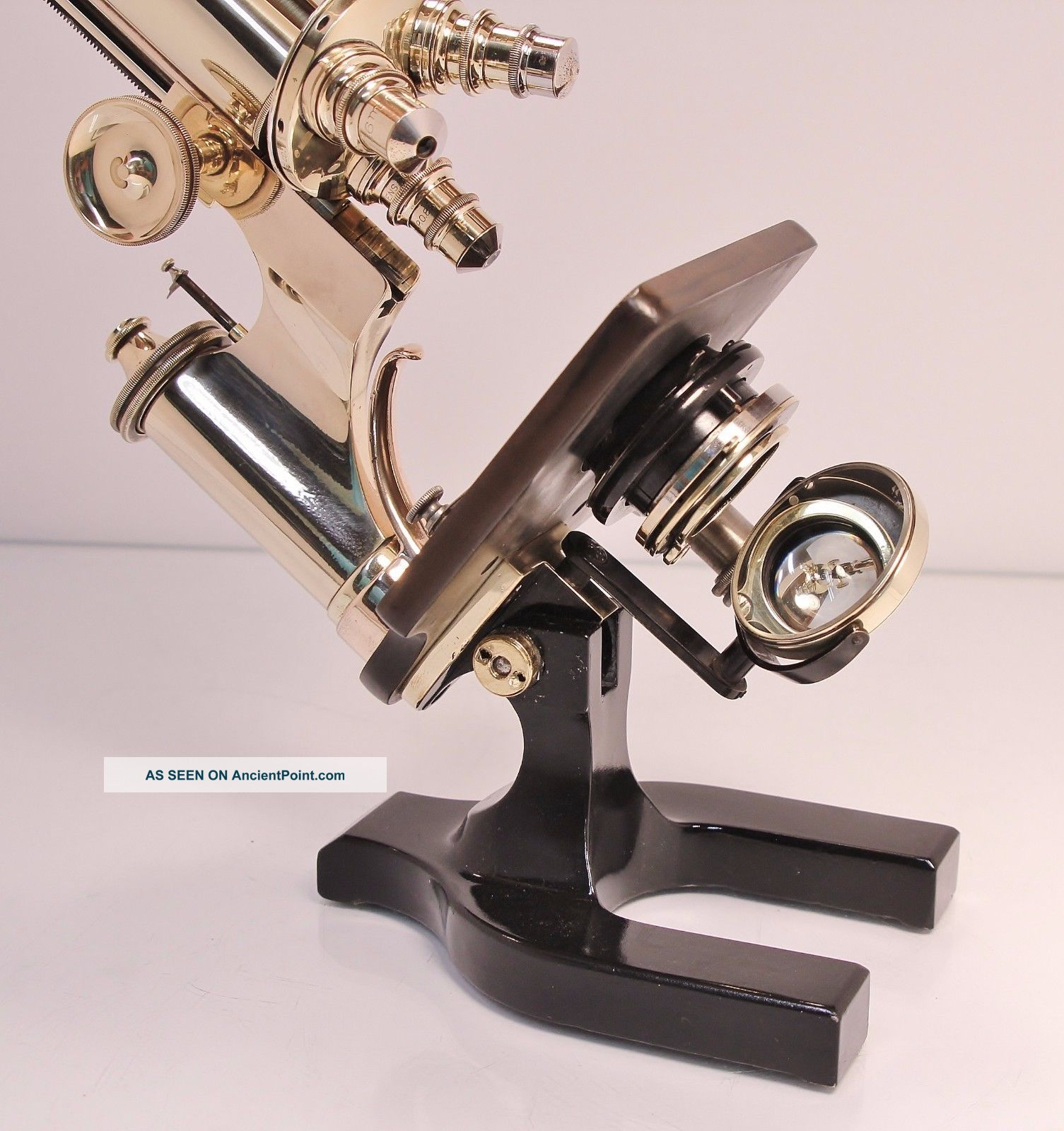 Antique Vintage Spencer Microscope Microscopes & Lab Equipment photo
