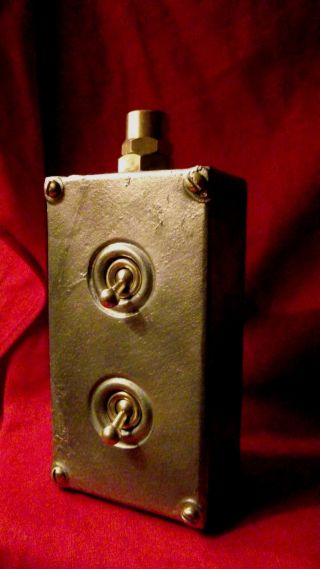 Vintage Industrial Light Switch