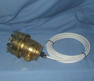 Aladdin Oil Lamp Burner - Converted To Electric - photo