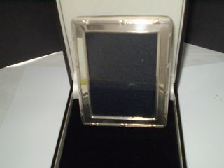 A Solid Silver Photos Frame Dated London 1962 photo