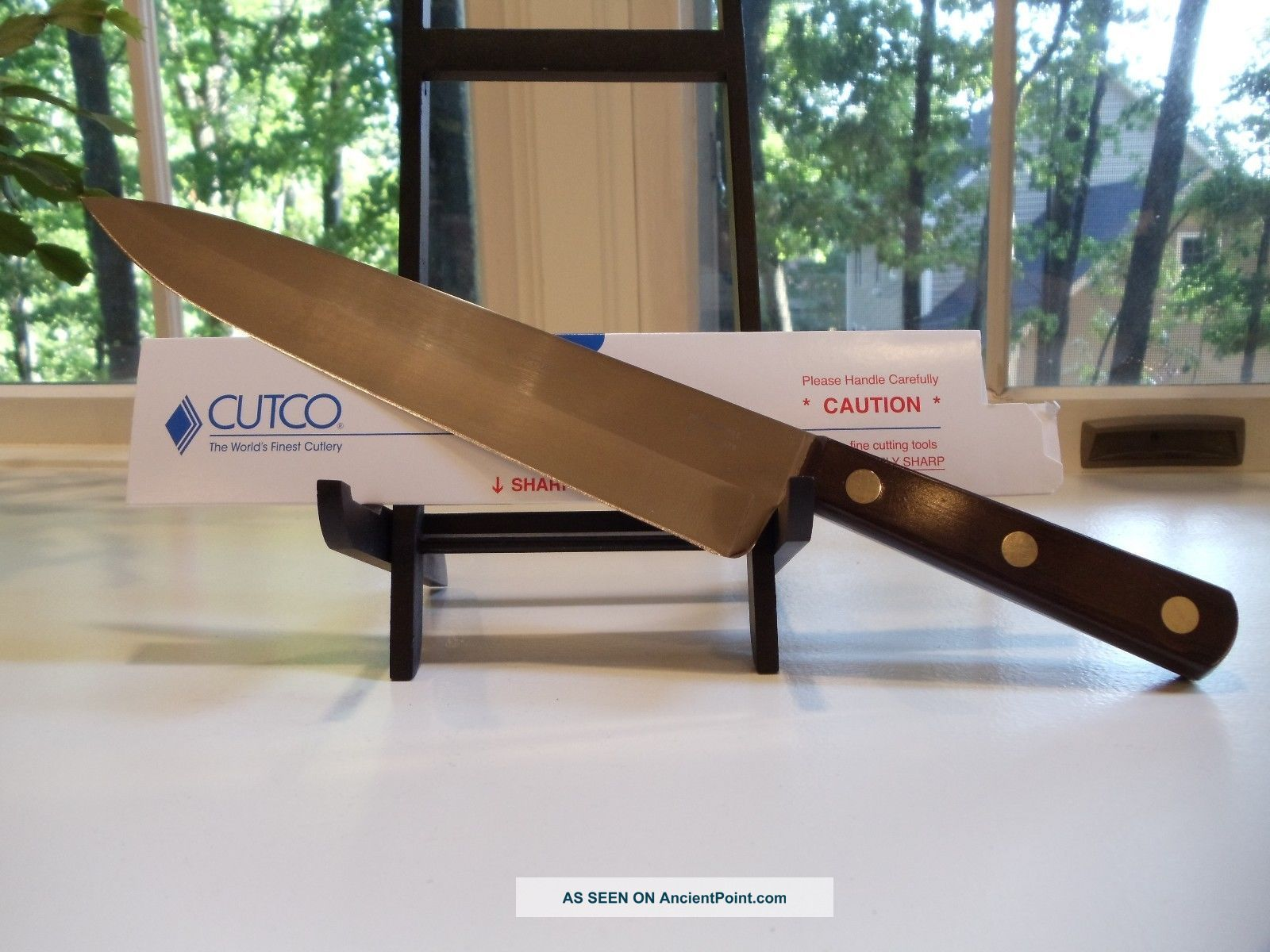 Cutco 9 1/4 Inch French Chef ' S Knife - No 35 Other Antique Home & Hearth photo