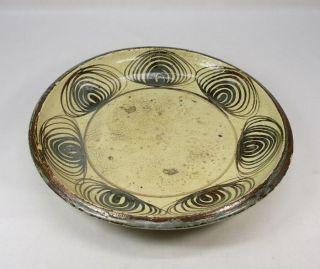 A633: Real Japanese Old Seto Pottery Plate Of Very Popular Uma - No - Me - Zara photo