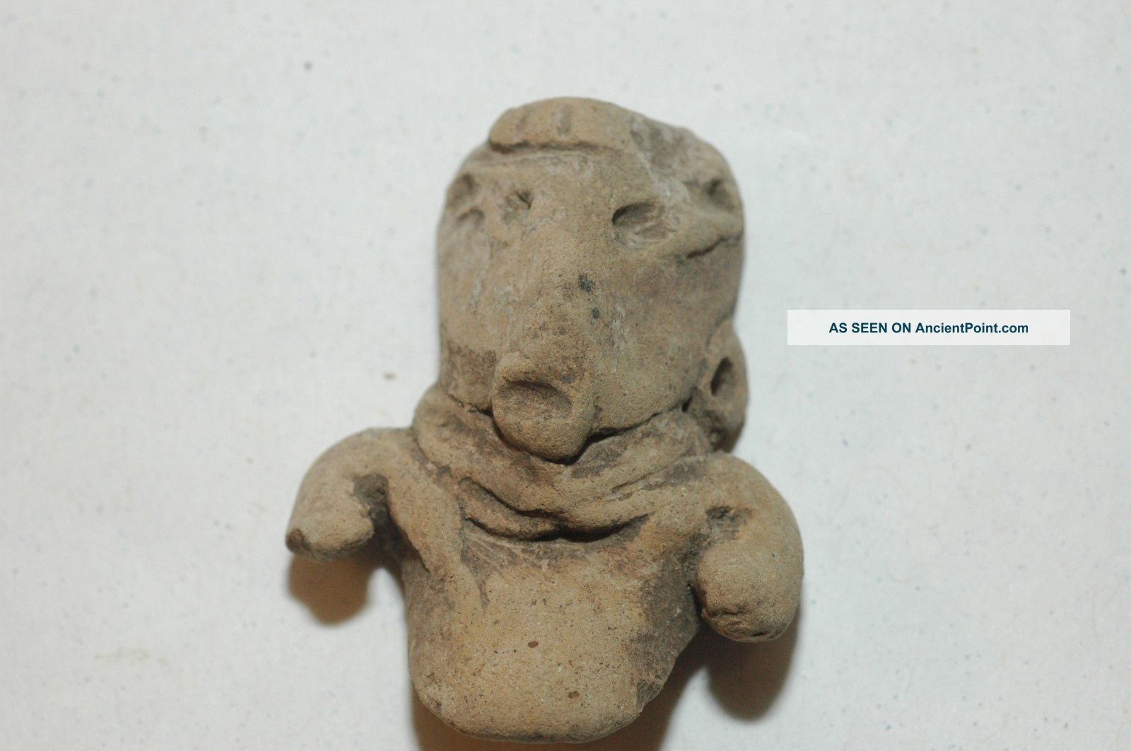 Pre - Columbian Mayan Chupicuaroterracotta Figure 1000 - 300 B.  C.  Caa - 139 The Americas photo