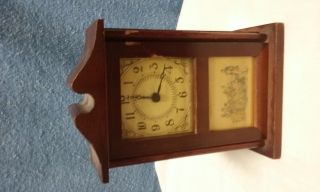 The Burroughs Company No.  48 T - Georgian Mini Mantle Clock photo