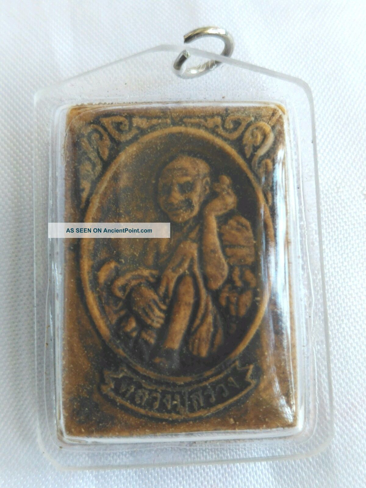 Pendant Lp Song Phra Khmer Buddha Talisman Thai Amulet For Luck Gambling Charm Amulets photo