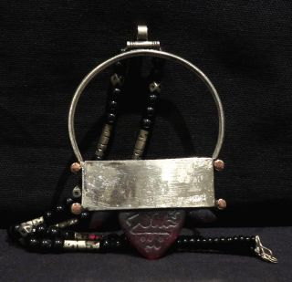 Tuareg Talisman – Hajj Red Glass - Mali / Niger photo