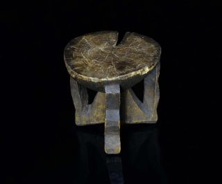 Vintage African Stool - Zambia - Kaonde Tribe - Tribally - Hai photo