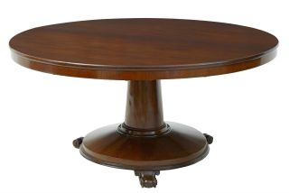19th Century Victorian Mahogany Tilt Top Breakfast Table photo