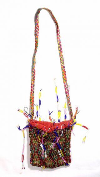 Timor Hand Made Textile Purse Bag - Atoni - Tribal Artifact photo