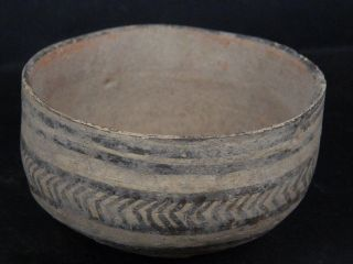 Ancient Teracotta Painted Pot Indus Valley 2500 Bc Pt15616 photo